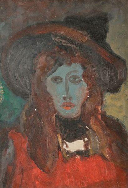 Stanislas ELESZKIEWICZ (1900-1963) Portrait...