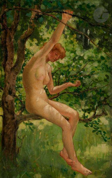 Louis Marie de SCHRYVER (1862-1942) Jeune...