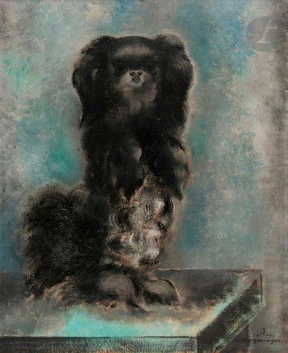 Sei KOYANAGUI [japonais] (1896-1948) Pékinois,...