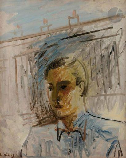 *Hernando VINES-SOTO 1904-1993 Jeune homme...