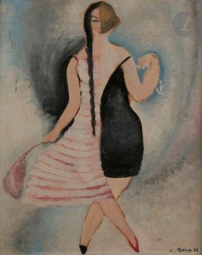 René Emmanuel MARCA (1893-1962) La Môme à...