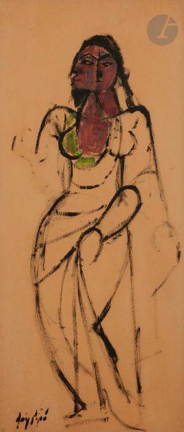 Manolo RUIZ-PIPO (1929-1998) Portrait de...