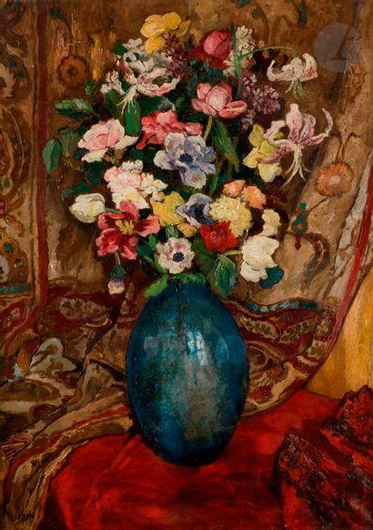 Marcel-François LEPRIN (1891-1933) Vase de...