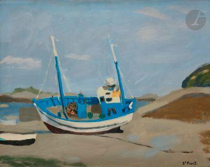 Yves de SAINT-FRONT (1928-2011) Le San-Vigors...