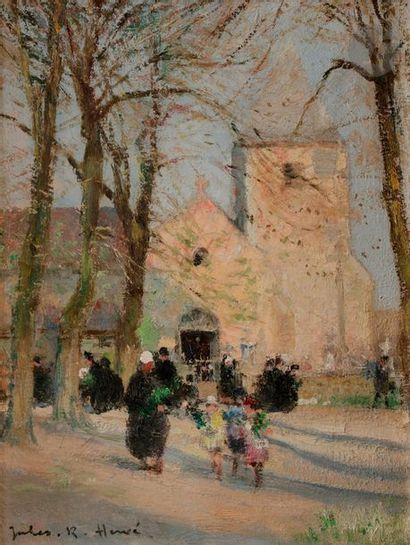 Jules-René HERVÉ (1887-1981) La Sortie de...