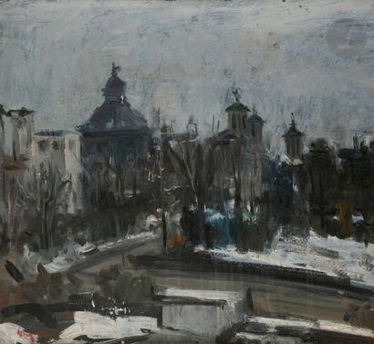 Gheorghe VANATORU (1908-1983) Bucharest en...