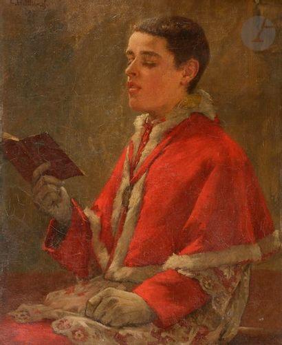 Ernest Émile LEMENOREL (1848-?) Le Soliste,...