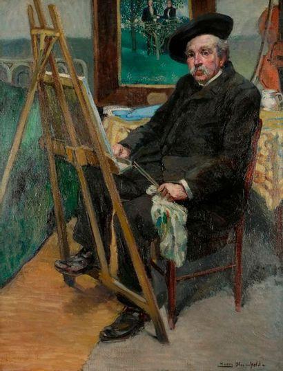 *Harry BLOOMFIELD (1883-1941) Portrait du...