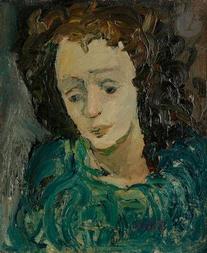 Gabriel DAUCHOT (1927-2005) Édith Piaf, vers...
