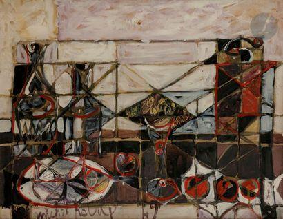 Michel PATRIX (1917-1973) Nature morte, 1947...