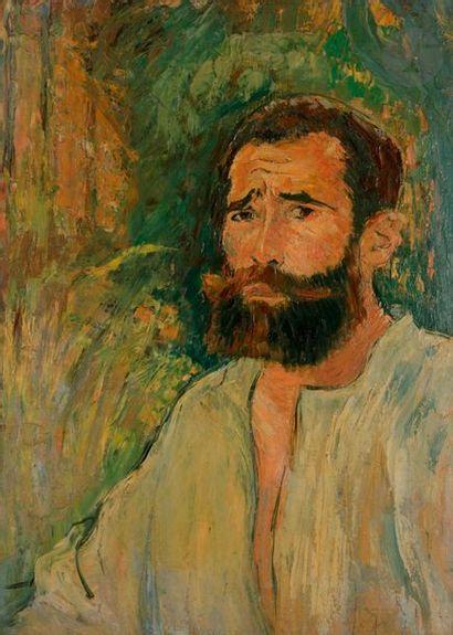 *Louis LEGRAND (1863-1951) Autoportrait,...
