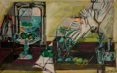 Michel PATRIX (1917-1973) Nature morte ,...