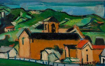 François DESNOYER (1894-1972) La Petite église...