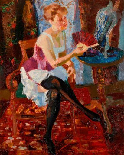 Louis BERTHOMME SAINT-ANDRÉ (1905-1977) Simone...