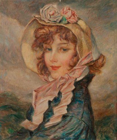 Abel-Jules FAIVRE (1867-1945) Portrait de...
