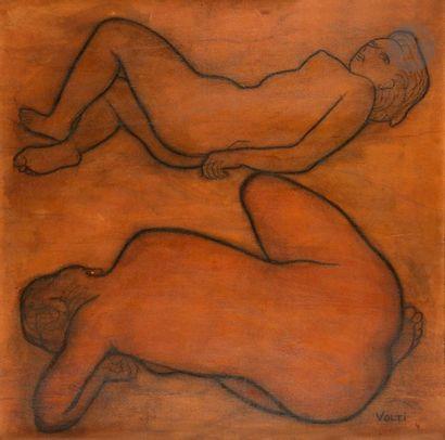 Antoniucci VOLTI (1915-1989) Femmes nues...