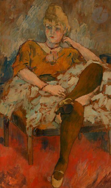 *Léon BONHOMME (1870-1924) Casque d'or, 1903...