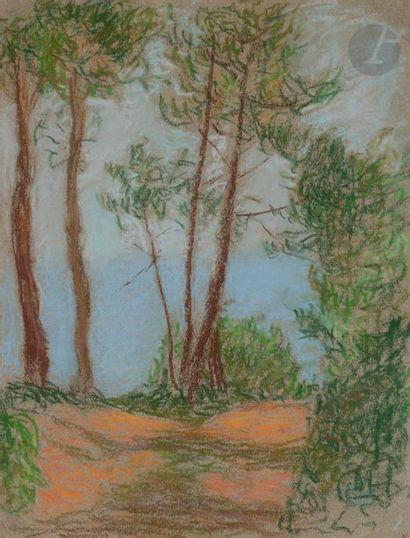 Claude-émile SCHUFFENECKER (1851-1934) Belle-Île...