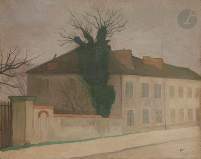 Joseph ROSSI (1892-1930) Maison de Madame...