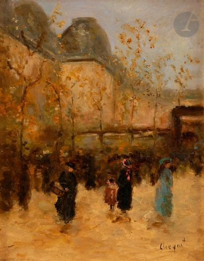 Jules Charles CHOQUET (1846-1937) Paris,...