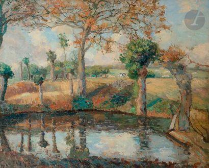 Emmanuel de LA VILLéON (1858-1944) Paysage...