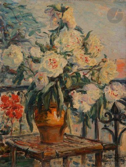 Georges CHENARD-HUCHé (1864-1937) Bouquet...