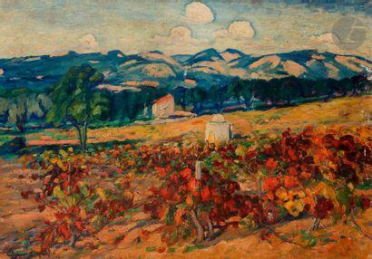 Georges CHENARD-HUCHé (1864-1937) Paysage...