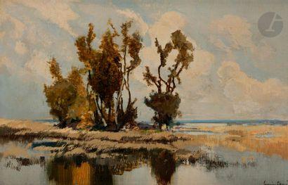 Lucien PERI (1880-1948) Corse, l'embouchure...
