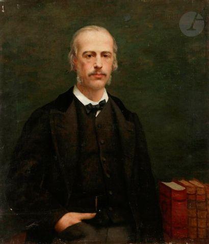 *Paul-Désiré TROUILLEBERT (1829-1900) Portrait...