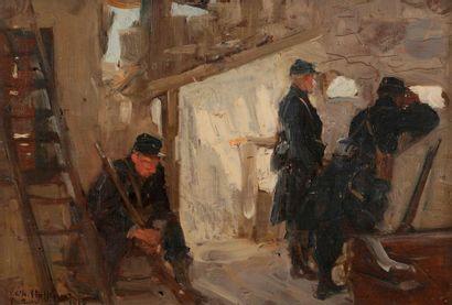 Charles Constantine HOFFBAUER (1875-1957)...