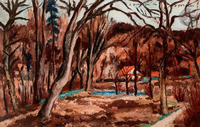 André DUNOYER DE SEGONZAC (1884-1974) Petite...