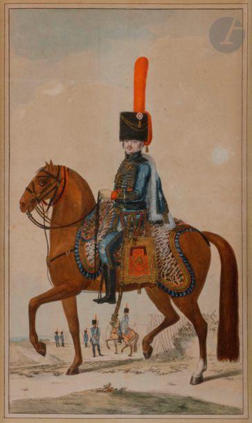 HOFFMANN (Nicolas) - Officier du régiment...
