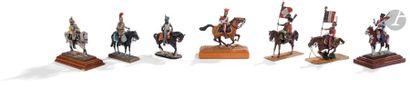 Figurines type ronde-bosse de divers fabricants,...
