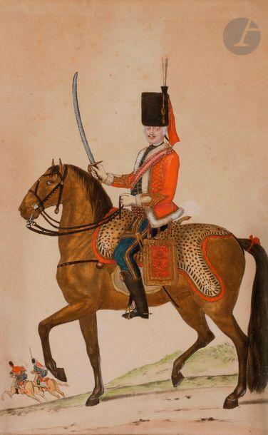 HOFFMANN (Nicolas) - Officier du régiment de Hussard à cheval. Colonel Général....