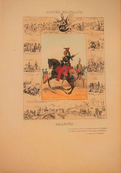 AMBERT Esquisses de l'armée française. Nouvelle...