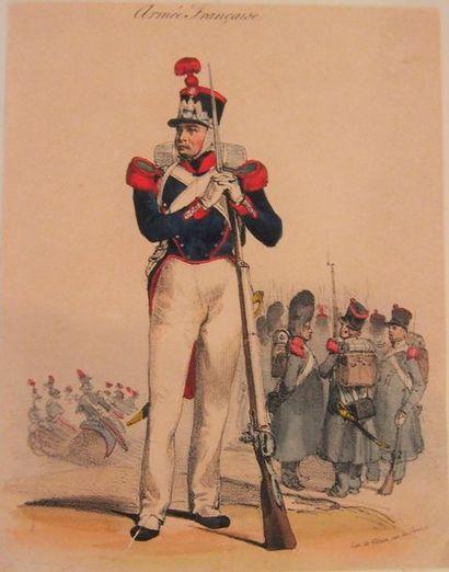 ARMÉE FRANçAISE, 1828-1848 Recueil composite...