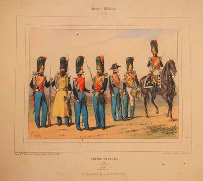 BASTIN Galerie militaire. Paris, Martinet,...