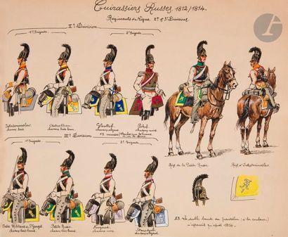 BOISSELIER (H.) - Cavalerie autrichienne....