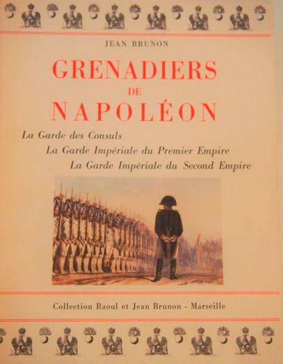 BRUNON (Jean et Raoul) Grenadiers de Napoléon....
