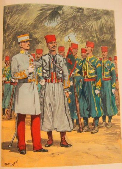 BUCQUOY (Cdt.) Les uniformes de l'Armée française....