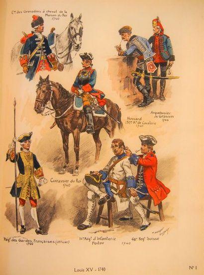 CART (Alex) Uniformes des régiments français...