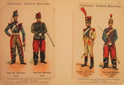 CARTES Chocolat Guérin-Boutron. Ens. de 68...