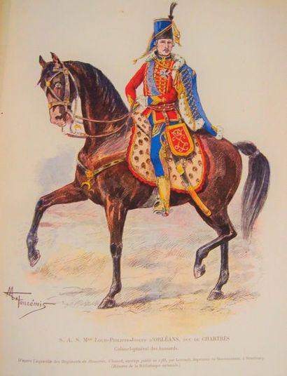 CHOPPIN (Capt.) Les Hussards, les vieux régiments....