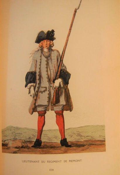 DEPREAUX (Albert) Costumes militaires de...