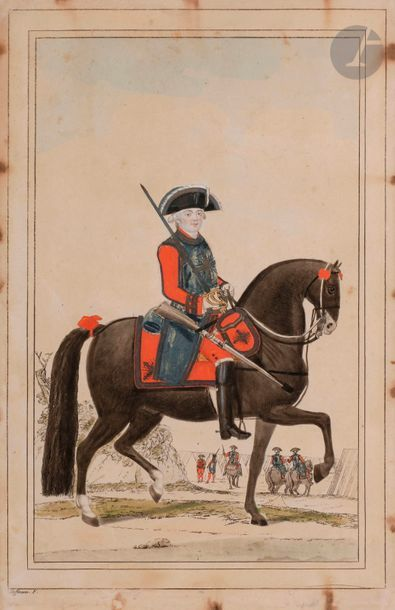 HOFFMANN (Nicolas) - Mousquetaire noir. Ancien...
