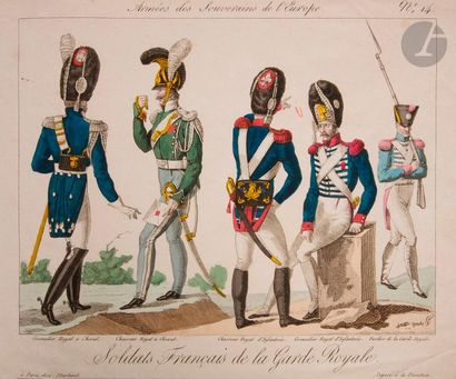 GODEFROID Armée des Souverains Alliés. 1814-1815....