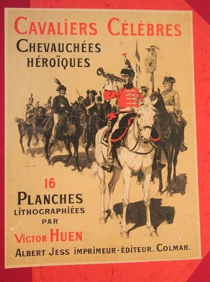 HUEN (V.) Cavaliers célèbres, chevauchées...