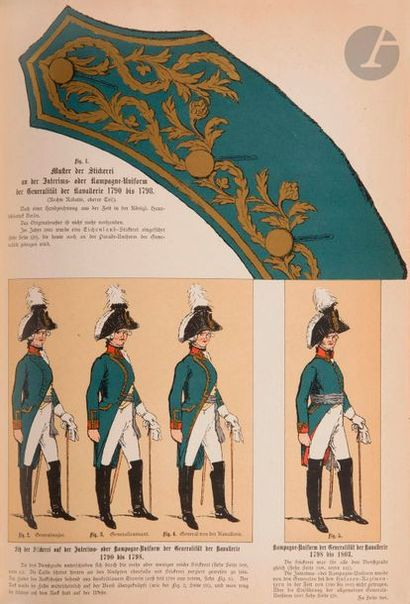 KLING (C.) Geschichte der Bekleidung, Bewaffnung...