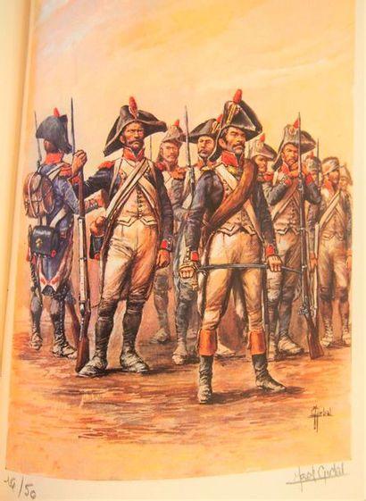 LACHOUQUE (Cdt. Henry) 2 décembre 1805. Dessins...
