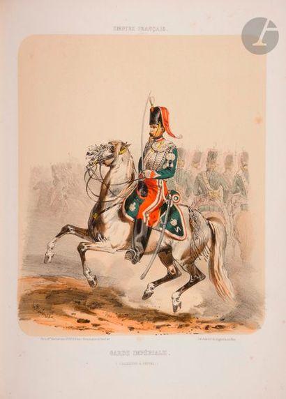 LALAISSE (H.) Empire français. L'armée et...